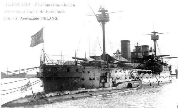 00_Acorazado Pelayo en el Puerto de BCN