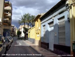 00_Calle Mayor de San Vicente (Casa Nº37_Fachada Azul) Foto Fernando Monllor