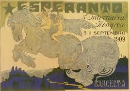 00_CartelCongres Esperanto_Barcelona 1909