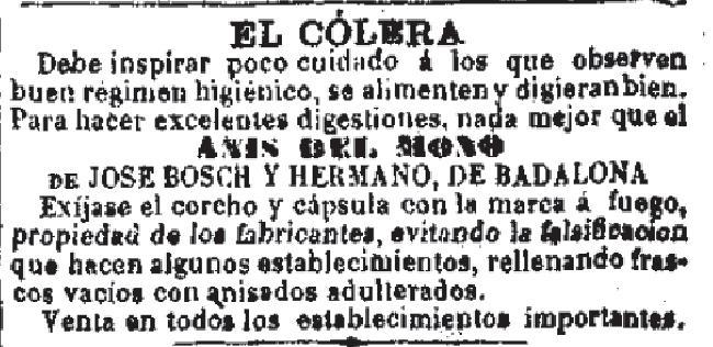 Resultado de imagen de colera 1885
