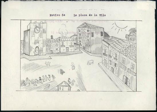 00_Dibujo Colonias Infantiles_Vila Joiosa