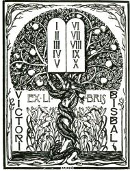 00_ExLibris para V Bisbal por JTriadó (1906)