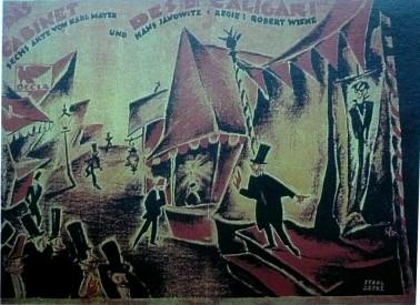 00_Gabinete del Doctor Caligari -1919-exponente expresionismo_Término acuñado en 1911 que hacía referencia a todas las vanguardias