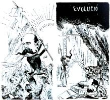 00_LaAnarquía Madrid 19-12-1890_CaricaturaCastelarpostrevolucionario