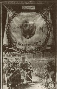 00_Postal-AsesinatoFerrerGuardia_Ateneu Enciclopédico Popular y Ediciones Pleniluni