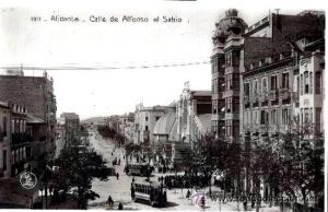 calle Alfonso El Sabio _1900-1910