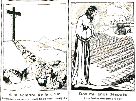 A la sombra de la cruz_ratalanga revista Macrocosmos años 30