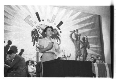 Acto público_Federación Ibérica de Juventudes Libertarias_Valencia 1937