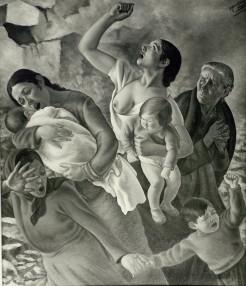 Alegoría Madrid 1937-Aviones negros (2)