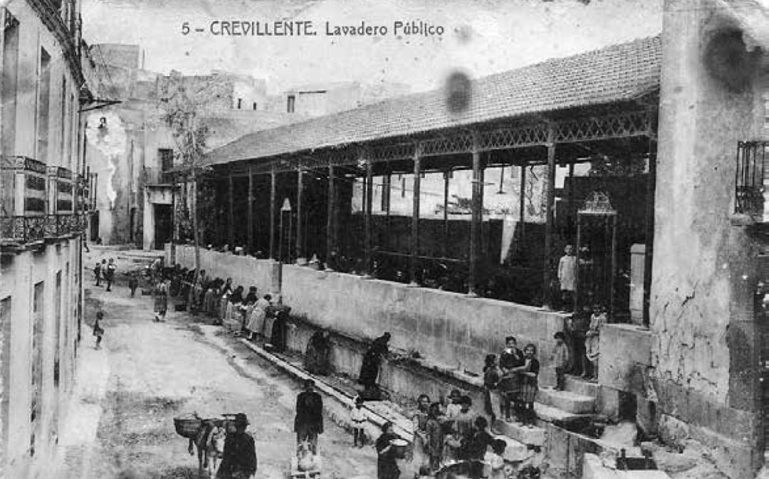 Antiguo Lavadero Publico_actual carrer Llavador Crevillente_Col Asunción Mas