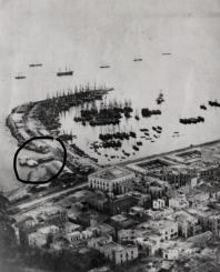 Baños de Simó en el puerto