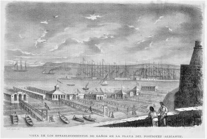Balnearios del Postiguet_El Museo Literario_24-09-1864