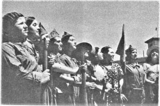 batallón femenino