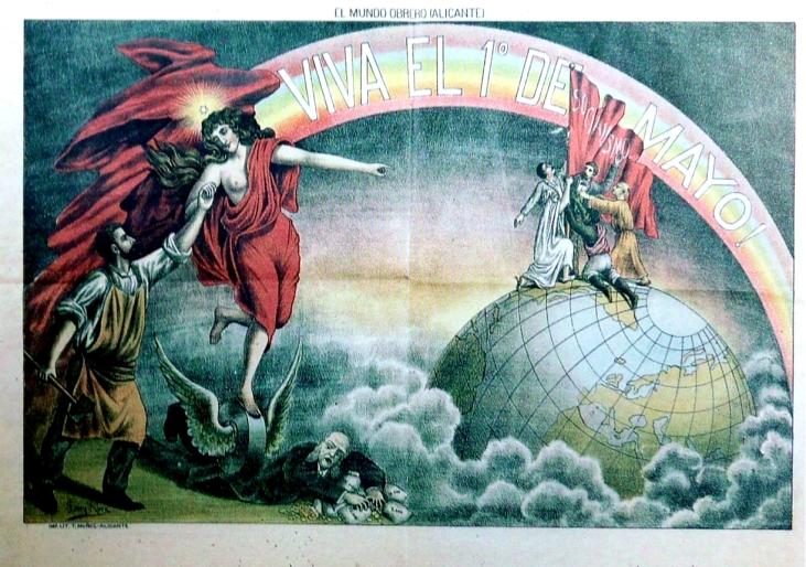 Cartel 1 Mayo de 1903_Archivo David Beltrá