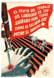Cartel Renau_Trabajo del Labrador_1936