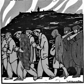 Conduccion Presos_Montjuich_L'Esquella de la Torraxa 30-03-1934
