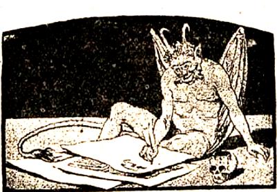 demonio ilustrado