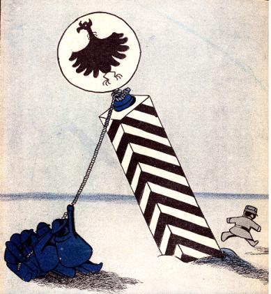Derribando Fronteras_L'Assiette au beurre 1910-05-07_A Hellé_01