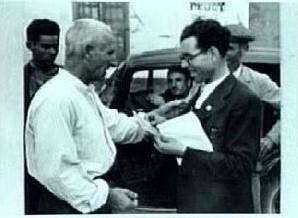 El viejo militante anarquista Narciso Poymerau_con el camarada 'Fragua Social' Salvador Cano Carrillo_IISH