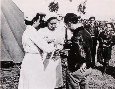 Enfermeras campo instruccx Pines del Vallés_21-03-1937 Arxiu Hist Ciutat Barcelona (2)