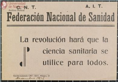 Federacx Nac Sanidad CNT