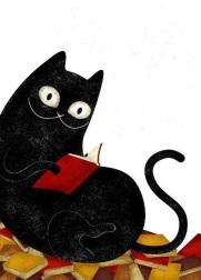 gato lector
