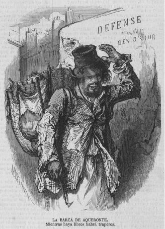 grabado trapero 1869