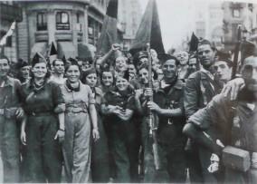 grupo milicianas al frente Huesca_Barcelona_28 agosto de 1936 (2)