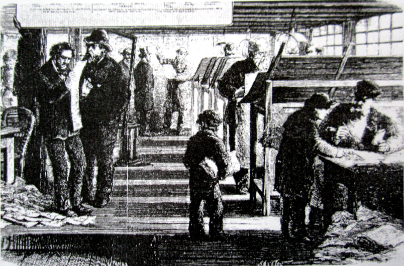 Imprenta exiliados comuna en Londres