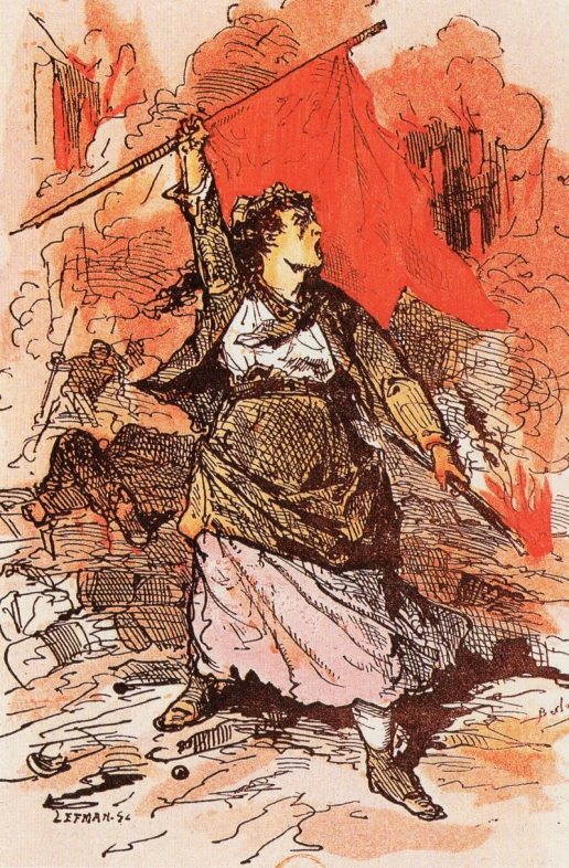 Louise Michel Before the Military Tribunal_petroleuse_1871