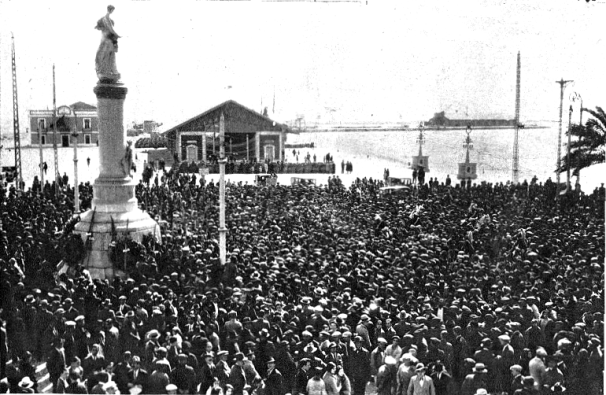 Manifestación 8 de marzo de 1931_La Calle 20 Marzo 1931