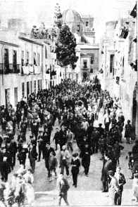 Manifestación Recuerdo Ramon Lagier-Elx_La Calle 13 Noviembre 1931