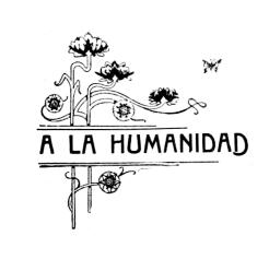 Membrete floral_A la Humanidad!