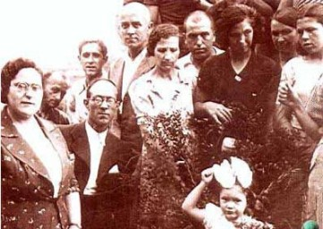 Miembros de la CNT_Homenaje a Ferrer Guardia_cementeri Montjuich