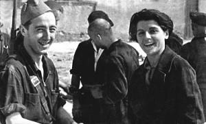 miliciana revolucion española_Marina ginesta y su hermano