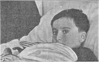 Niño victima disparos Guardia Civil en Arnedo 22-01-1932