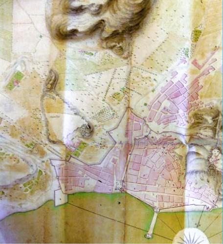 Plano Alicante 1710
