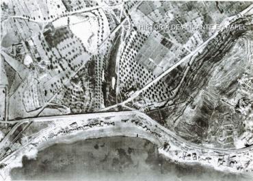 Playa Albureta_casetas madera década 1940