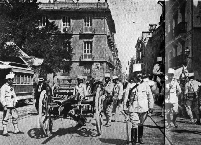 plaza san agustin 1911-Valencia