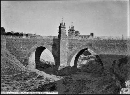 Puente sobre el Vinalopo-Elx s XIX