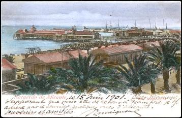 Recuerdo de Alicante_Balnearios 1901