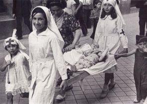 revolucion y sanidad niñas enfermeras_octubre 1936