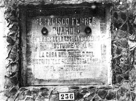 Tumba cementerio civil Montjuic_1931_Francisco Ferrer-La Calle 25-09-1931