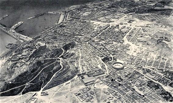 vista aérea Alicante_años 20