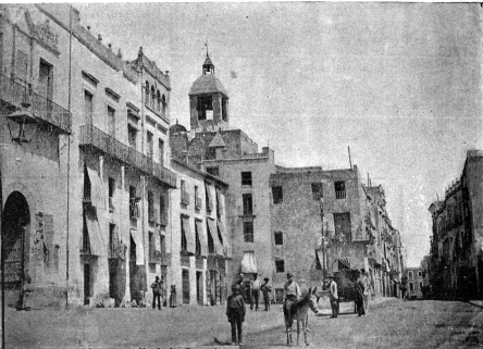 vista calle corredera Elx 1900