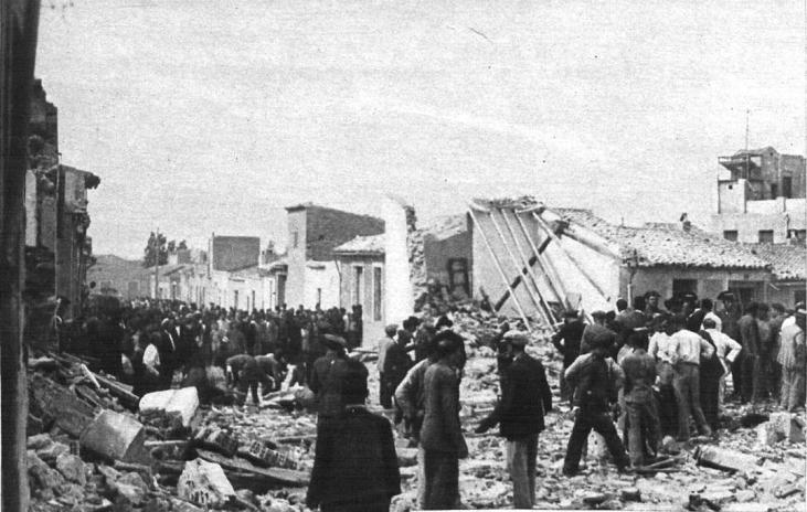 vista calle República_Alicante_accidente pirotécnico_1934