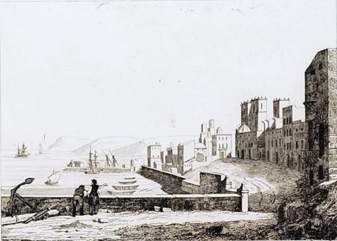 Vista de Alicante_ppios siglo XIX