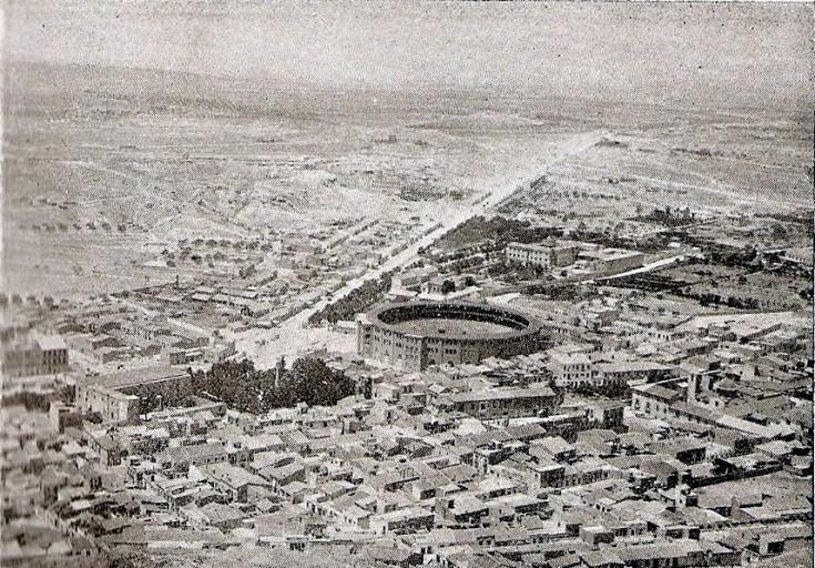 Vista desde Castillo_Alicante norte_década 1910