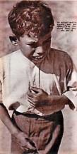 Vista retaguardia_ niño perdido en el frente de Cordoba_1937