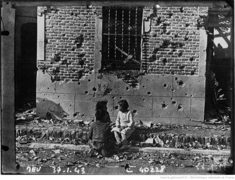 Vista retaguardia_niños de la guerra